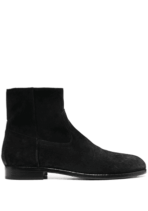 Buttero zipped ankle boots - Black