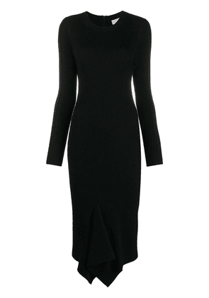 Michael Michael Kors ribbed knit dress - Black
