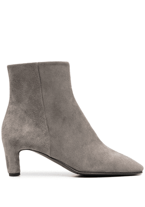 Del Carlo zipped ankle boots - Grey