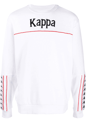 Kappa embroidered logo sweatshirt - White