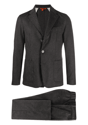 Barena pinstripe single-breasted suit - Grey