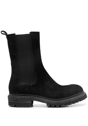 Del Carlo Chelsea high-ankle boots - Black