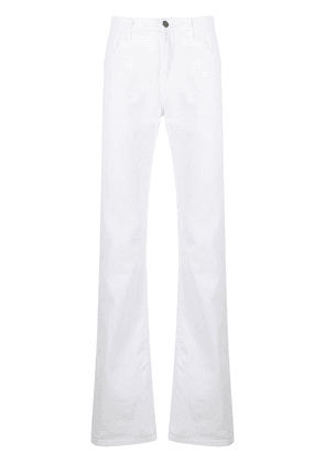 Gucci classic bootcut jeans - White