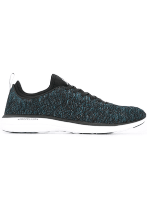 APL: ATHLETIC PROPULSION LABS mélange lace-up sneakers - Blue
