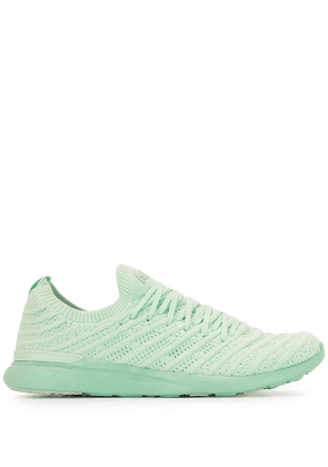 APL: ATHLETIC PROPULSION LABS TechLoom Wave knitted sneakers - Green