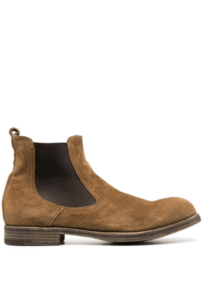 Premiata suede ankle boots - Brown
