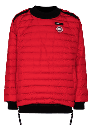 Y/Project x Canada Goose Hybridge padded jacket - Red