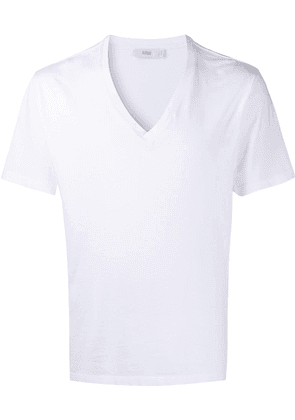 Closed V-neck T-shirt - White