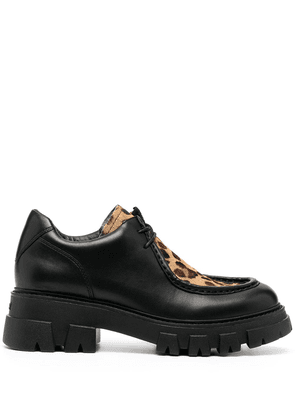 Ash Linnie leather brogues - Black