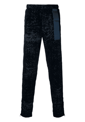 Cottweiler patterned track trousers - Blue