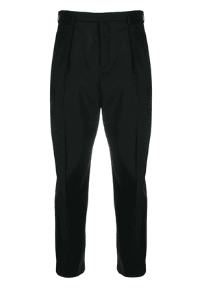 Saint Laurent tailored tapered trousers - Black