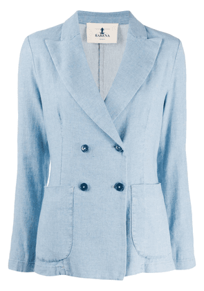 Barena fitted double-breasted blazer - Blue