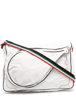 Dolce & Gabbana racket shoulder bag - White