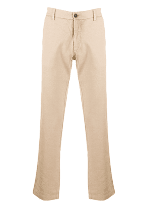 Barena textured style cropped trousers - Neutrals