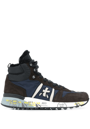 Premiata side logo sneakers - Blue