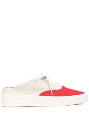 Fear Of God 101 backless sneakers - White