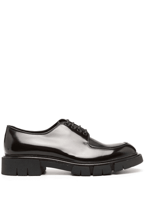 Fratelli Rossetti polished lace-up shoes - Brown