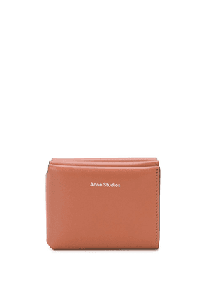 Acne Studios trifold wallet - Brown