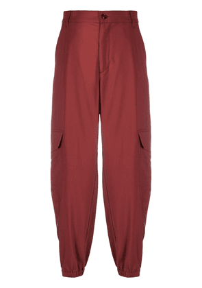 Barena cropped straight-leg trousers - Red