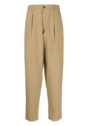 Universal Works pleated waist chinos - Neutrals