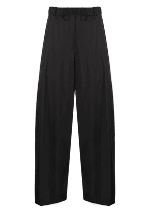 Y/Project high-rise wide leg trousers - Black