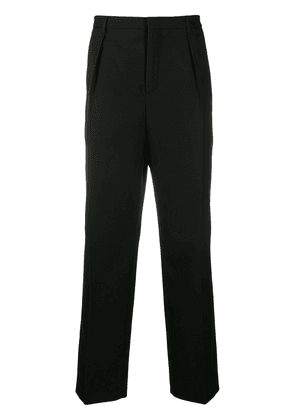 Saint Laurent tailored straight-leg trousers - Black