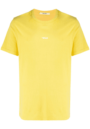 Zadig&Voltaire photograph print t-shirt - Yellow