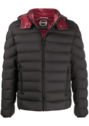 Colmar quilted hooded jacket - Black