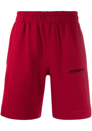 Styland not Rain Proof track shorts - Red