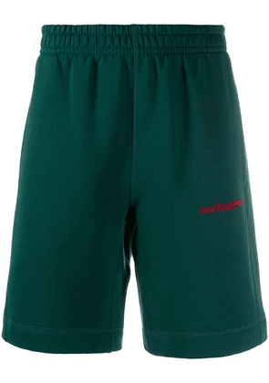 Styland not Rain Proof track shorts - Green