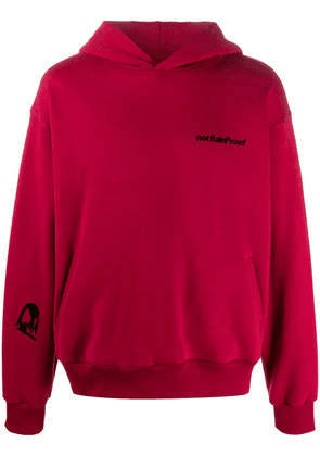Styland Not Rainproof hooded sweatshirt - Red