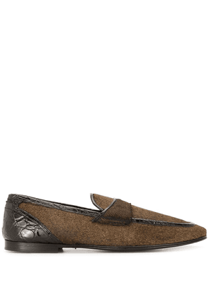 Dolce & Gabbana classic loafers - Brown