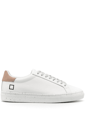 D.A.T.E. low-top lace-up sneakers - White