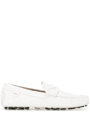 Dolce & Gabbana classic loafers - White