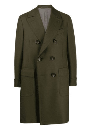 Gabriele Pasini double-breasted wool coat - Green