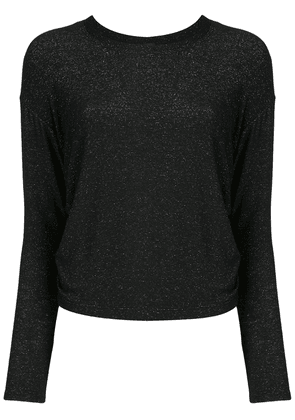 ALALA metallic-detail performance top - Black