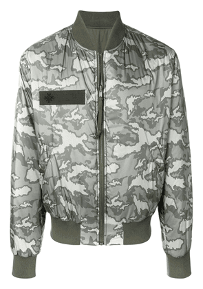 Mr & Mrs Italy padded bomber jacket - Green