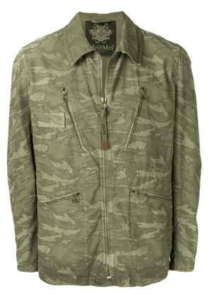 Mr & Mrs Italy lightweight military jacket - Green