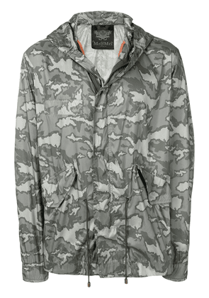 Mr & Mrs Italy camouflage print raincoat - Green