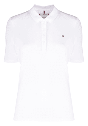 Tommy Hilfiger Essential polo shirt - White