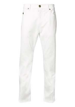 Mr & Mrs Italy slim-fit trousers - White