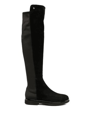 AGL panelled knee-high boots - Black