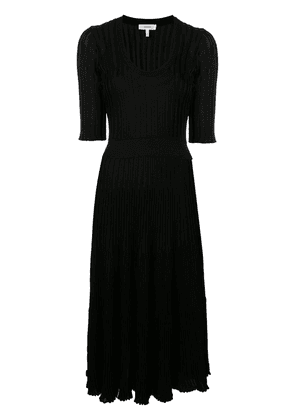 Casasola knitted scoop neck dress - Black