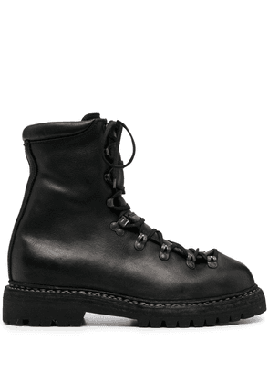Guidi trekking ankle boots - Black