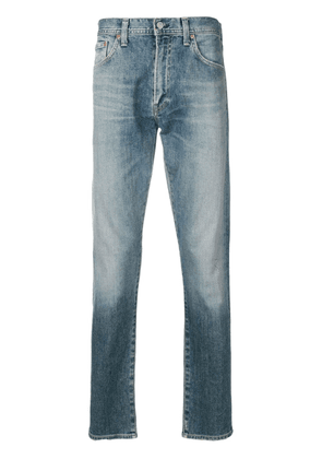 Citizens of Humanity stonewashed straight-leg jeans - Blue