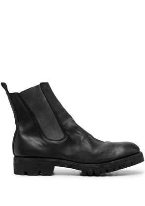 Guidi chelsea ankle boots - Black