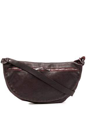 Guidi curved messenger bag - Red