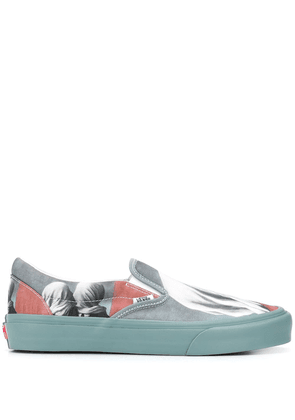 Opening Ceremony slip-on Magritte sneakers - Blue