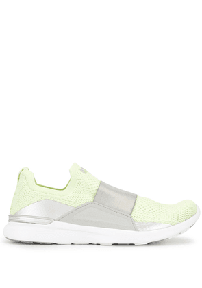 APL: ATHLETIC PROPULSION LABS TechLoom Bliss slip-on knitted sneakers - Green
