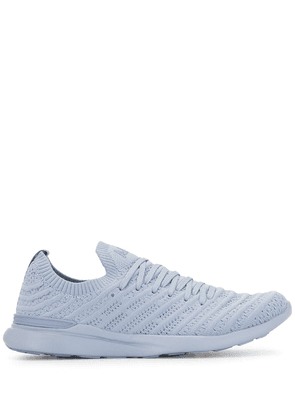 APL: ATHLETIC PROPULSION LABS TechLoom Wave knitted sneakers - Blue